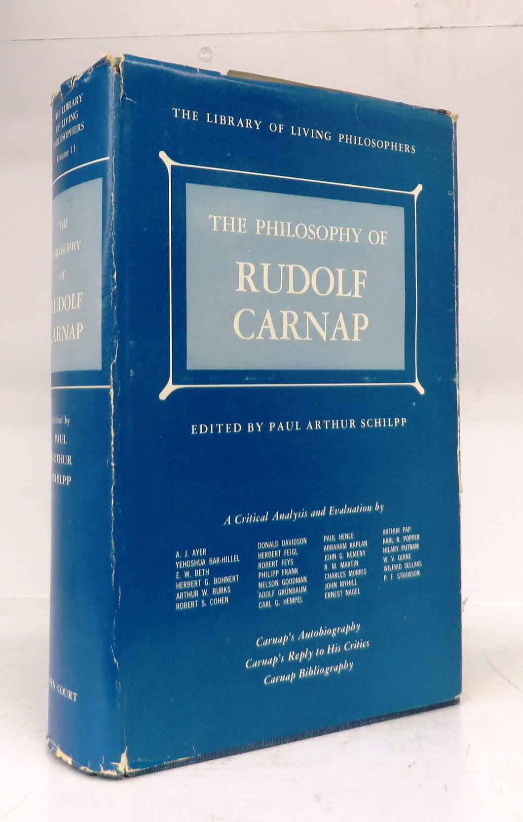 The Philosophy of Rudolf Carnap