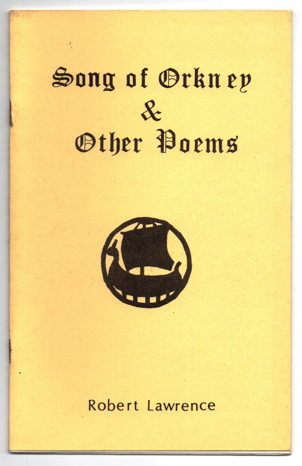 Song of Orkney & Other Poems