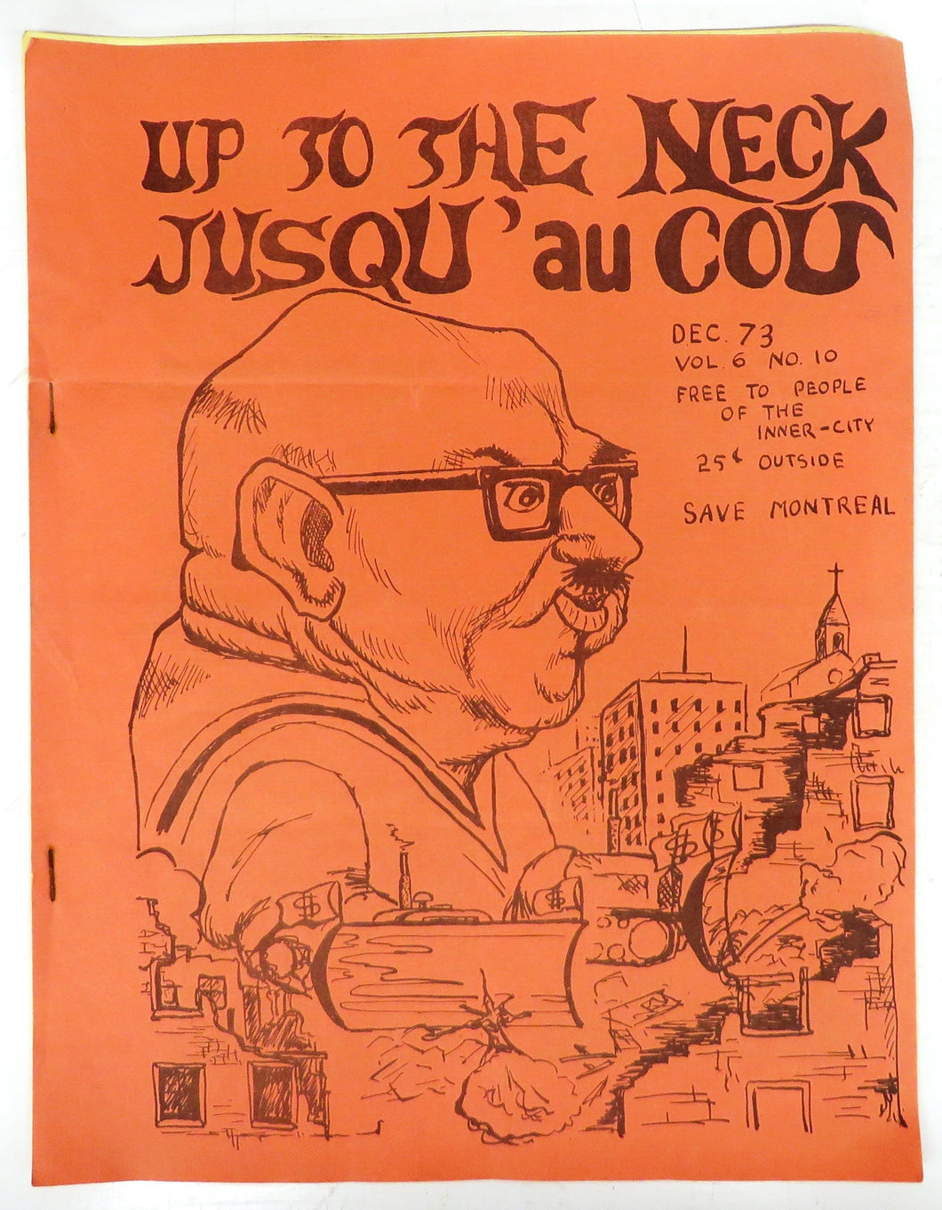Up To The Neck; Jusqu'au Cou Dec. '73