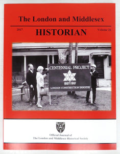 The London and Middlesex Historian 2017