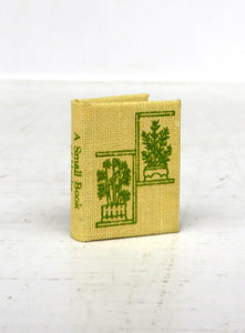 A Small Book of Herbs (miniature book)