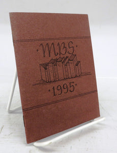 Miniature Book Exhibition Catalog 1995