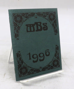 The Miniature Book Society Catalog of the 1996 Miniature Book Exhibition