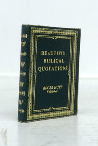 Beautiful Biblical Quotations (Miniature book)