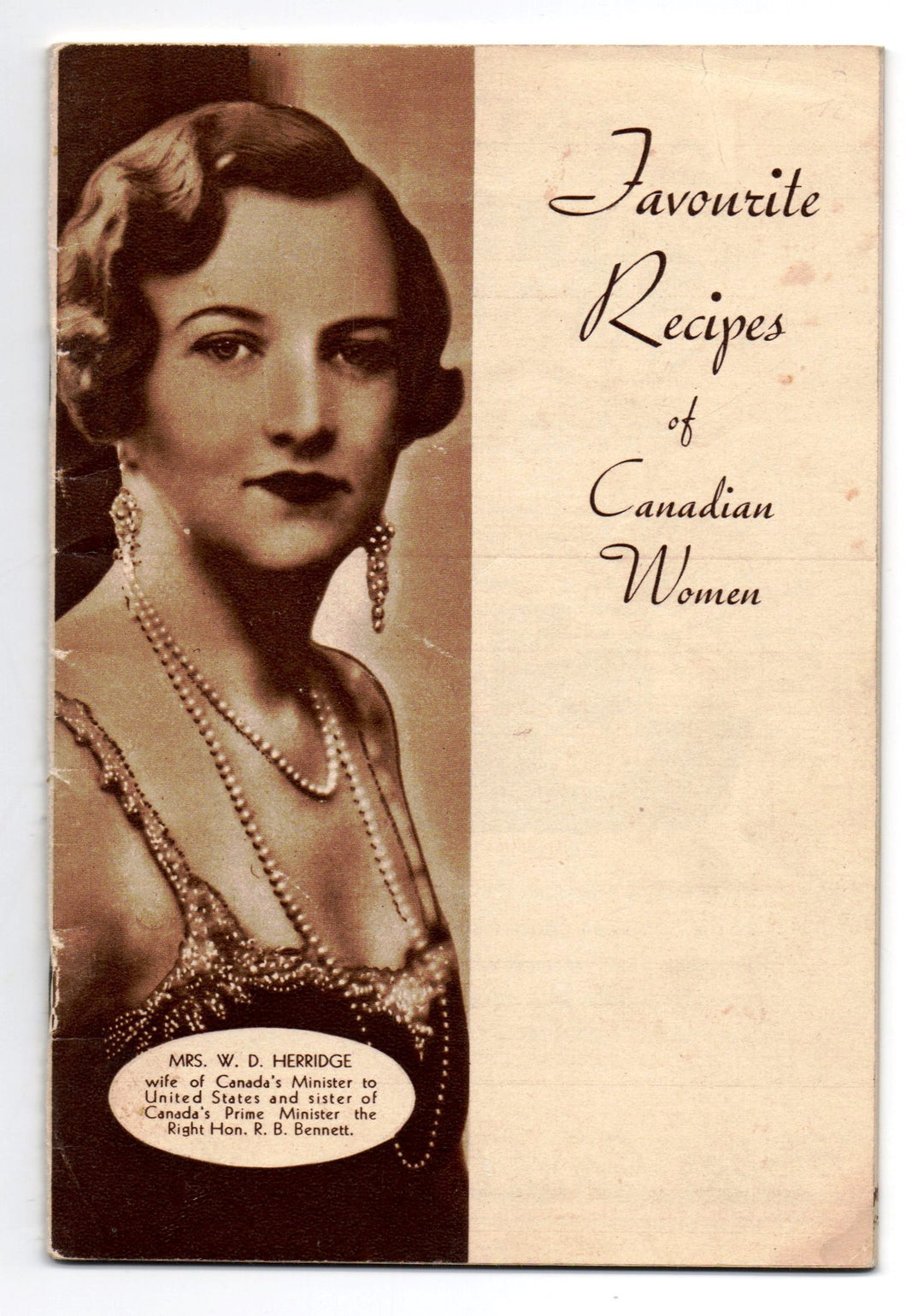 Favourite Recipes of Canadian Women