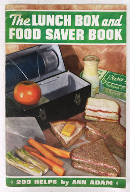 The Lunch Box and Food Saver Book