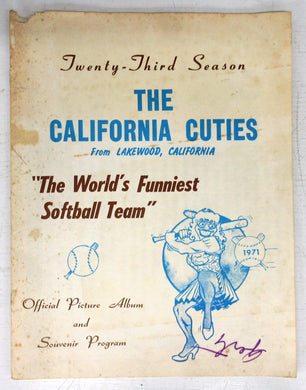 The California Cuties Official Picture Album and Souvenir Program