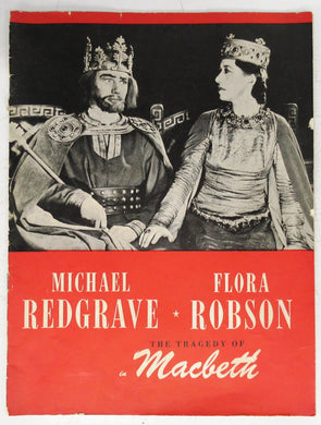 "Michael Redgrave & Flora Robson the Tragedy of ""Macbeth"""