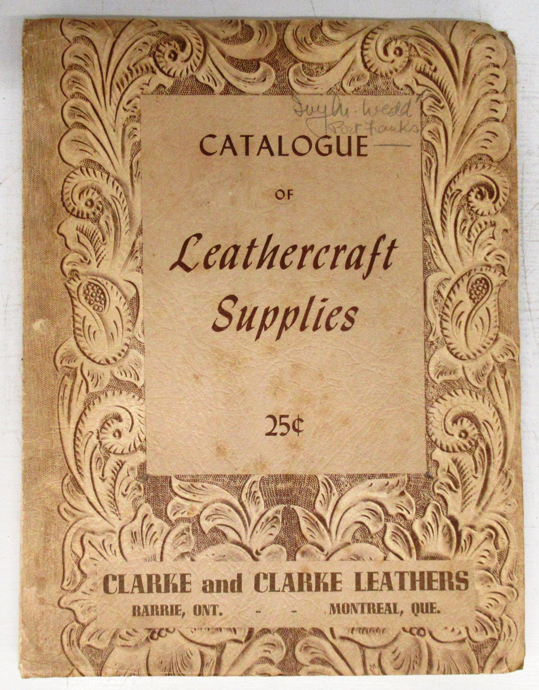 Catalogue of Leathercraft Supplies
