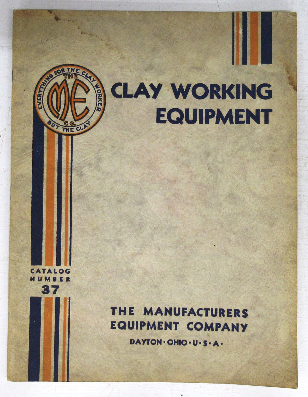 Clay Working Equipment catalogue