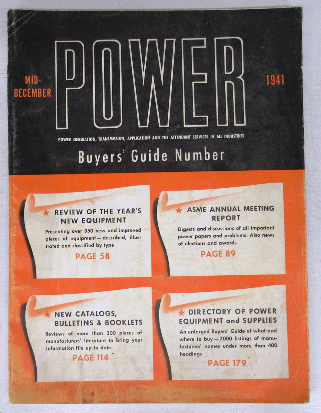 Power, Mid-December 1941