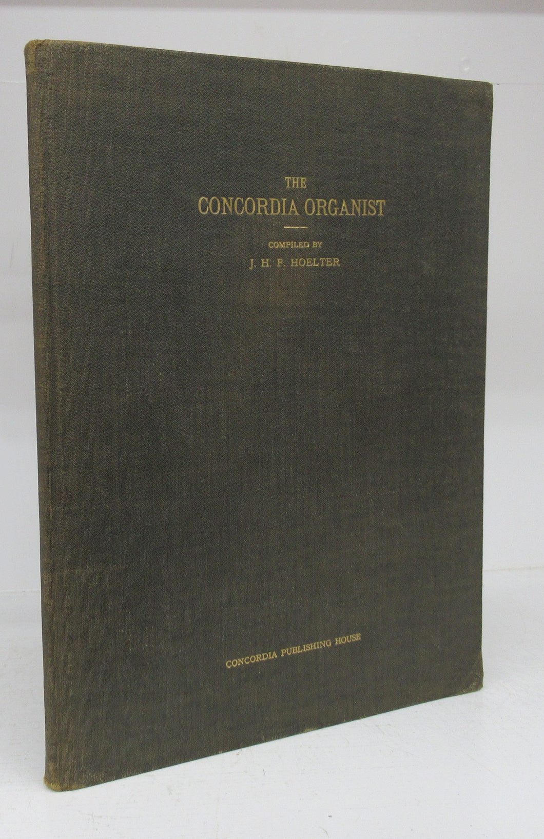 The Concordia Organist: A Volume of Hymn Preludes