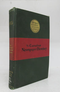 The Canadian Newspaper Directory 1905