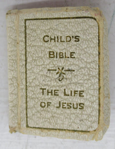 The Child's Bible and Prayer Book (miniature book)