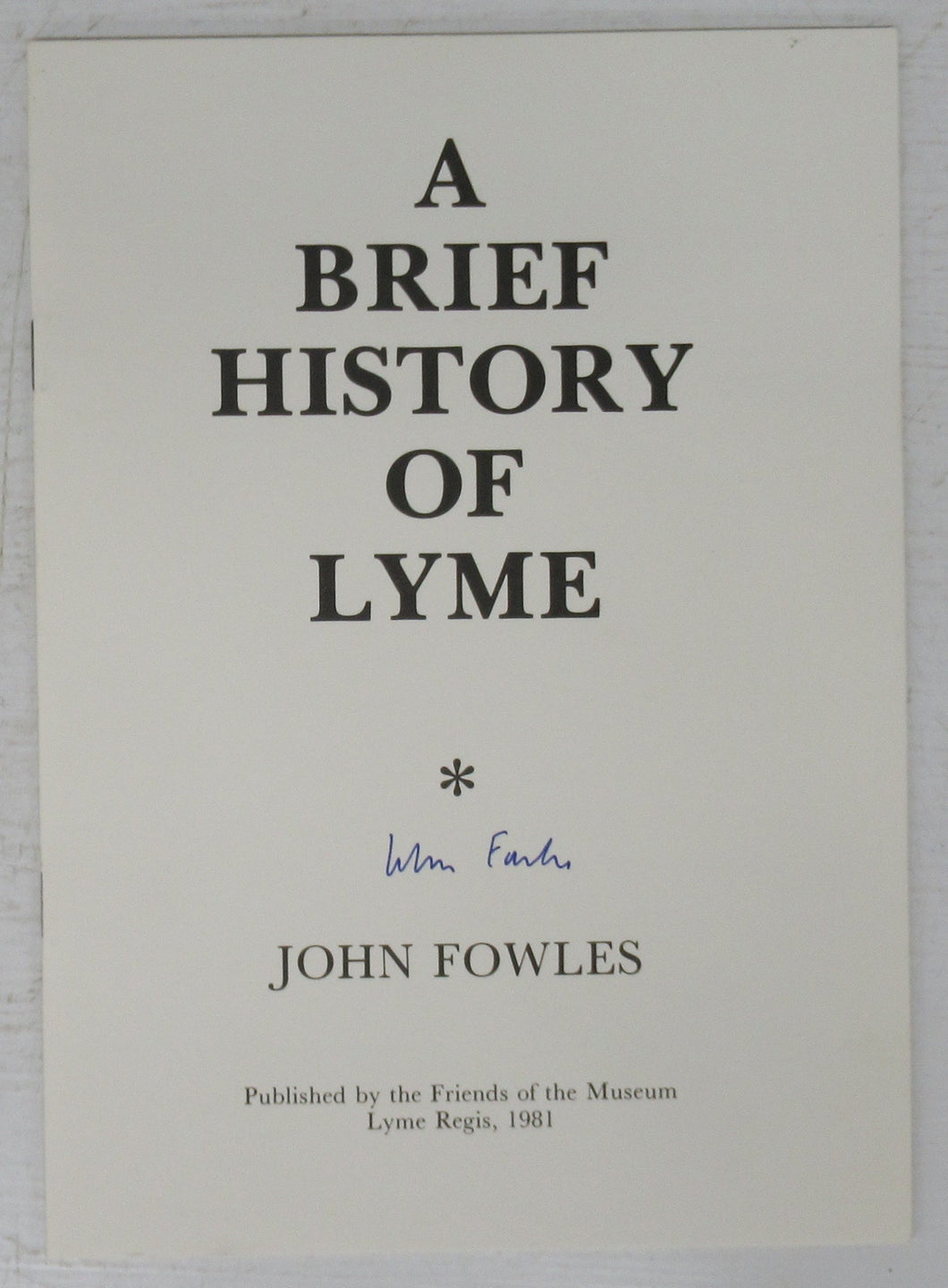 A Brief History of Lyme