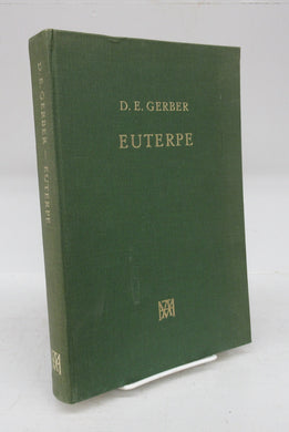 Euterpe: an Anthology of Early Greek Lyric, Elegiac, and Iambic Poetry