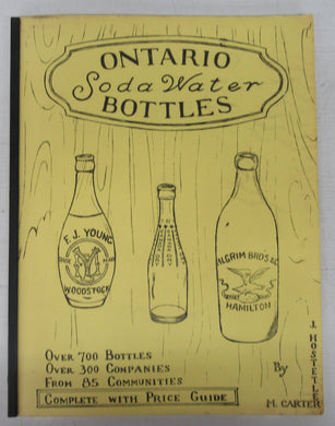 Ontario Soda Water Bottles