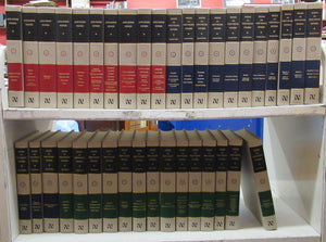 Nicene and Post-Nicene Fathers. First, Second and Third Series. Complete in 38 volumes
