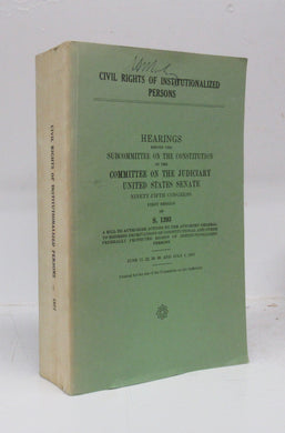 Civil Rights of Institutionalized Persons