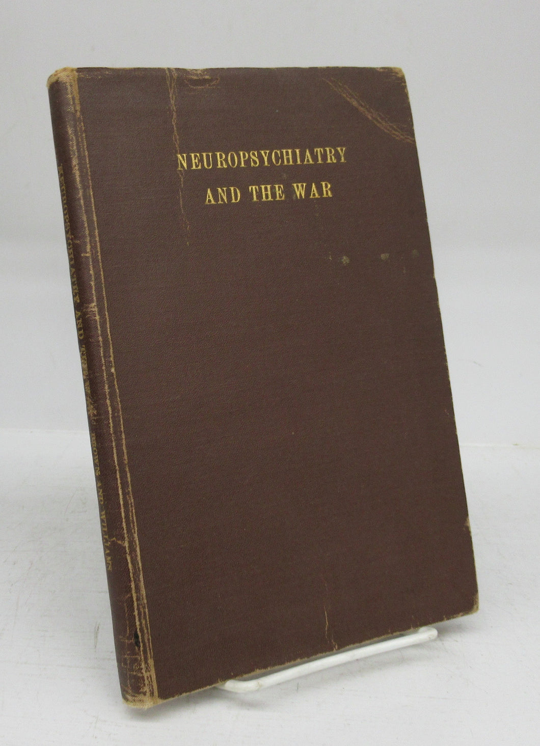 Neuropsychiatry and the War: A Bibliography with Abstracts