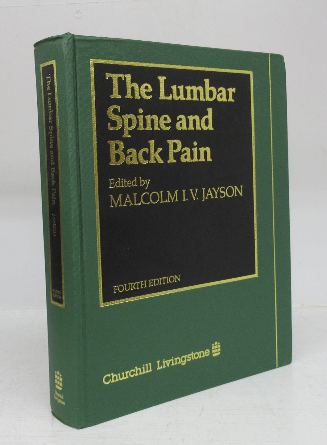 The Lumbar Spine and Back Pain