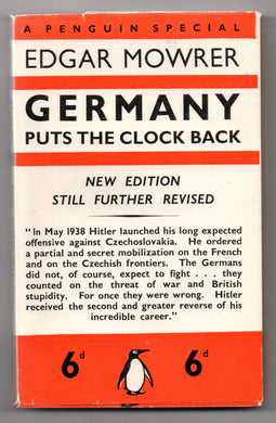 Germany Puts The Clock Back