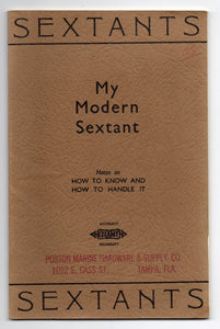 My Modern Sextant: Notes on How to Know and How to Handle it