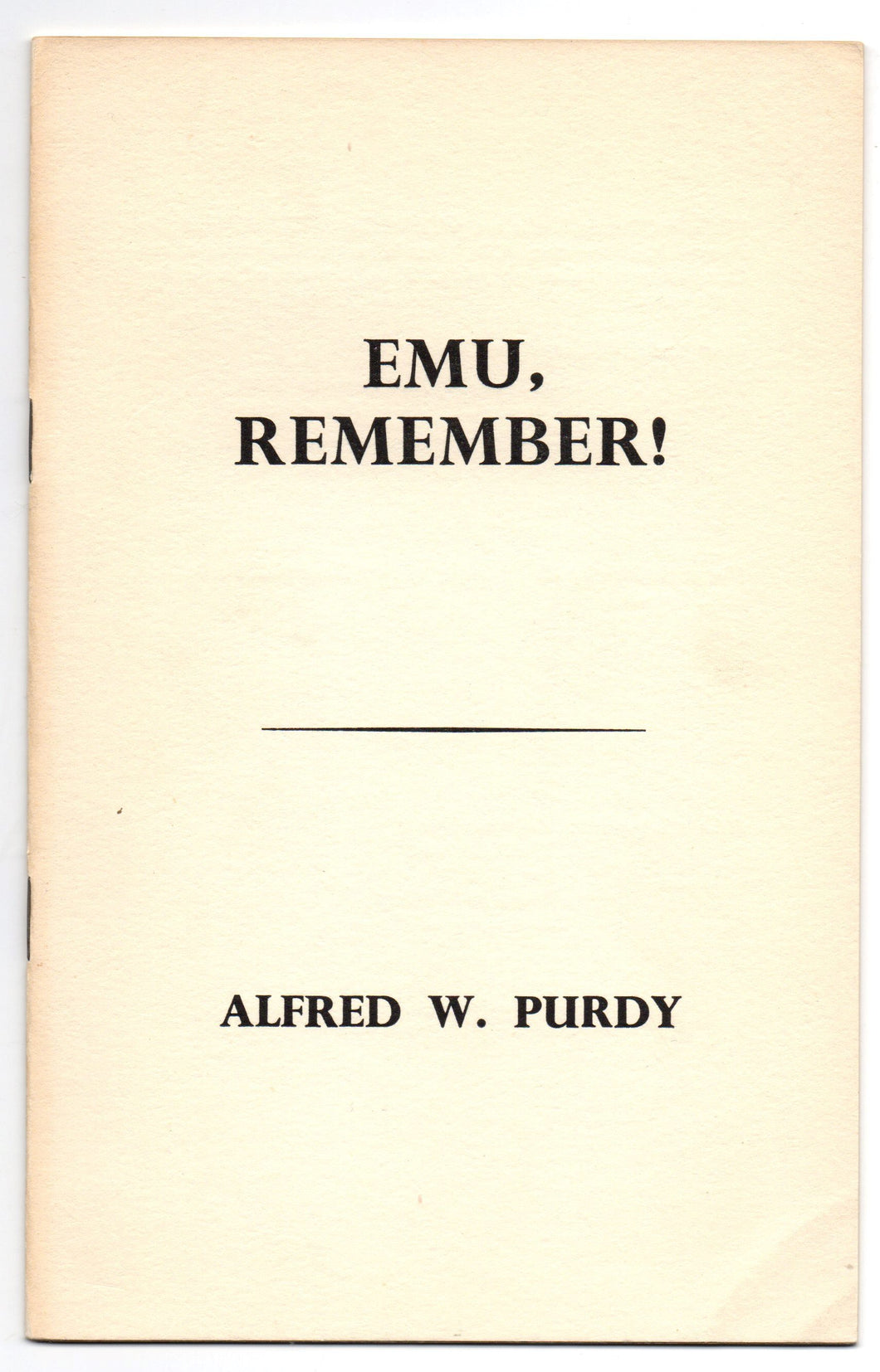 Emu, Remember!