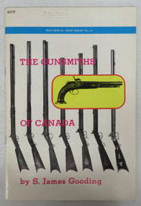 The Gunsmiths of Canada: A Checklist of Tradesmen