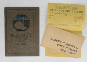 A Little Journey through the Roycroft Copper and Leather Shops