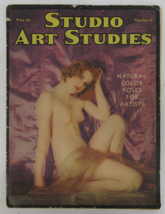Studio Art Studies: Natural Color Poses For Artists