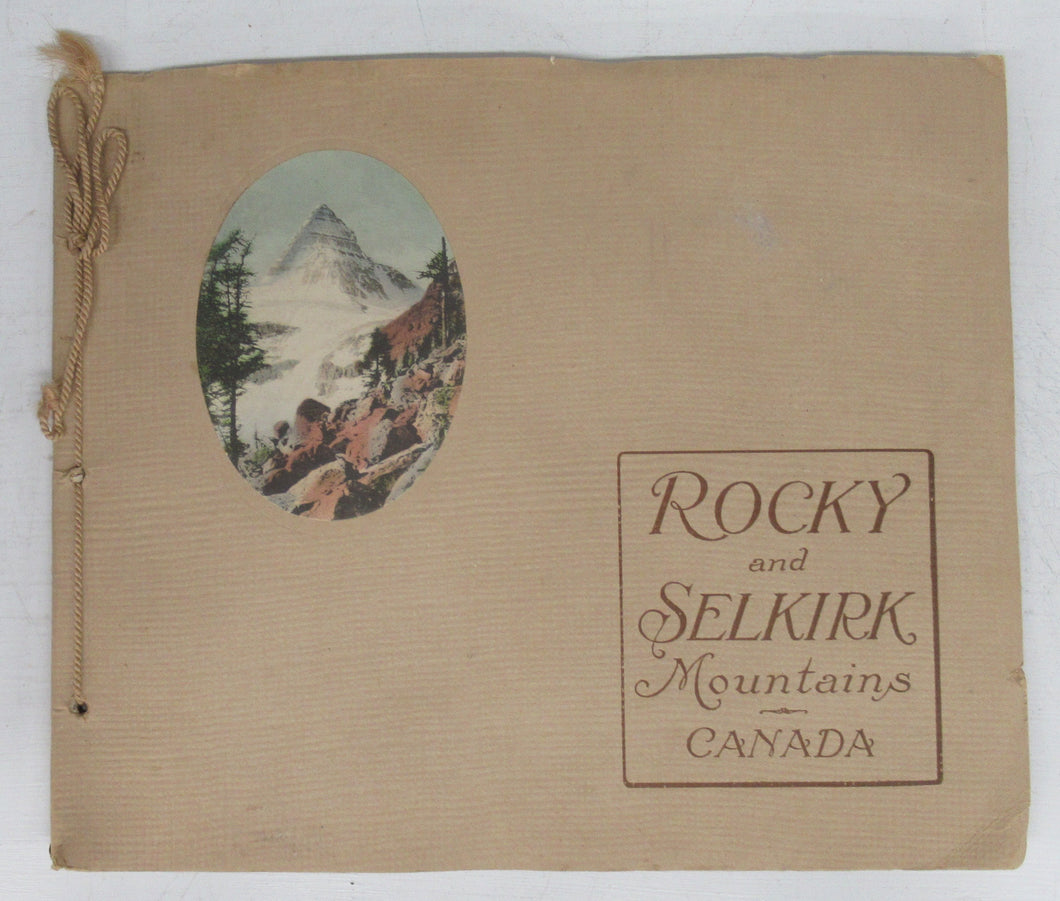 Rocky and Selkirk Mountains Canada