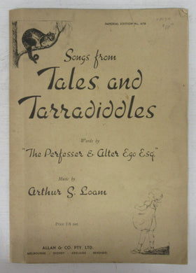 Songs from Tales and Tarradiddles