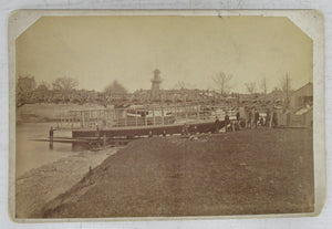 Photo of Princess Louise, Forest City, and Victoria steamboats, London, Ontario
