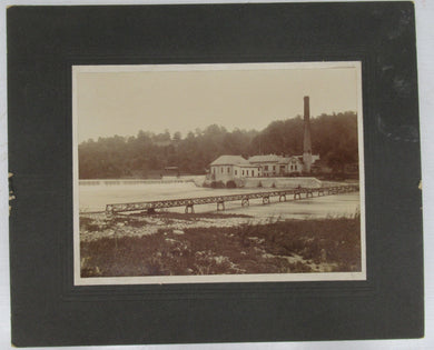 Photograph of Pumphouse and Waterworks Dam at Springbank Park, London, Ontario
