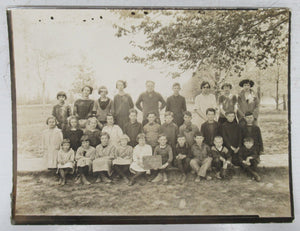 School photo from S. S. # 11, Burford, Oxford County, Ontario