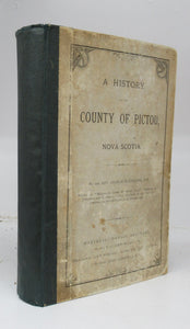 A History of the County of Pictou, Nova Scotia