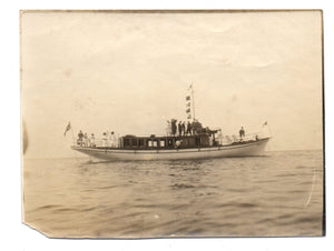 "Photograph of boaship ""Kiwanee"""