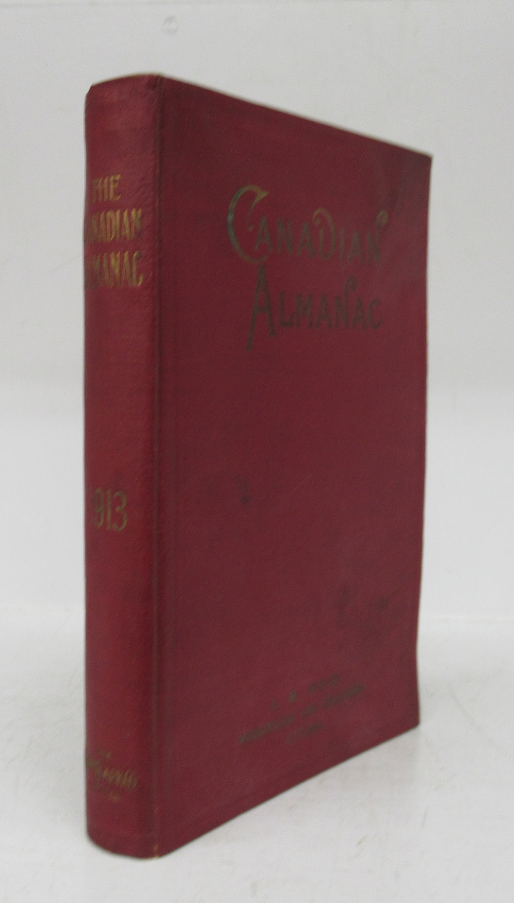 The Canadian Almanac and Miscellaneous Directory for the year 1913