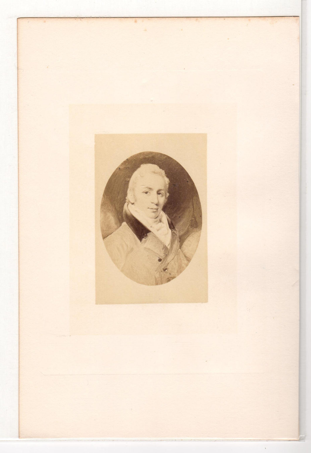 Photo of a portrait of Joseph Bouchette