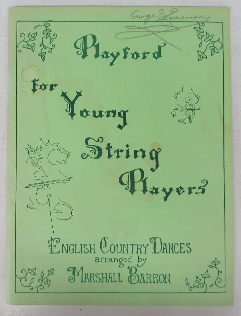 Playford for Young String Players: English Country Dances