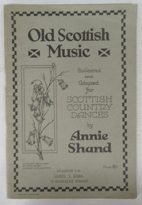Old Scottish Music collected and Adapted for Scottish Country Dances