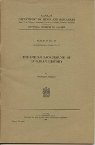 The Indian Background of Canadian History