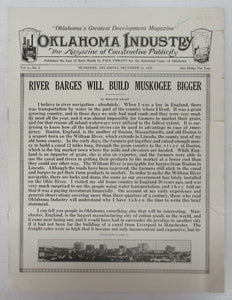 Oklahoma Industry, Dec. 31, 1929
