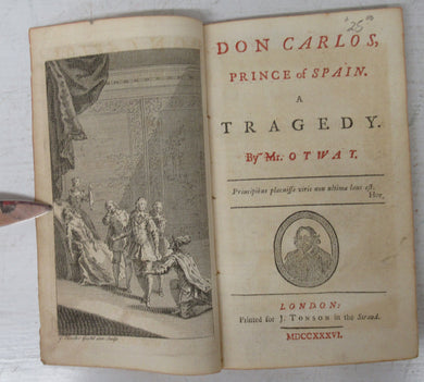 Don Carlos, Prince of Spain. A Tragedy