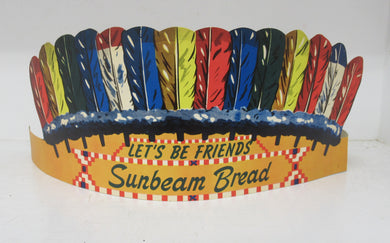 Stroehmann's Sunbeam Bread headdress signs