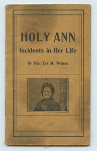 Holy Ann: Incidents in Her Life