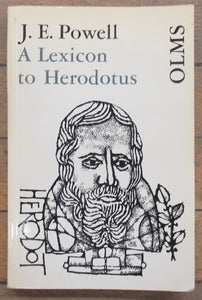 A Lexicon to Herodotus