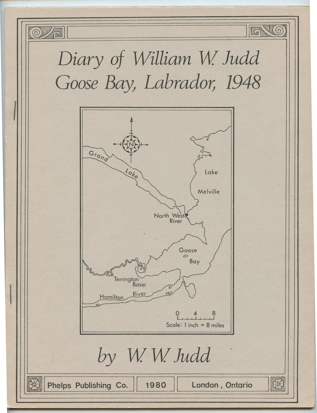 Diary of William W. Judd, Goose Bay, Labrador, 1948