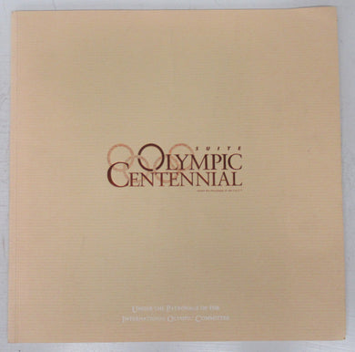 Suite Olympic Centennial booklet